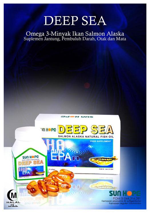 Minyak Ikan Salmon Deep Sea