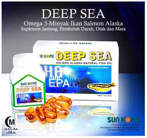 Minyak Ikan Salmon Alaska